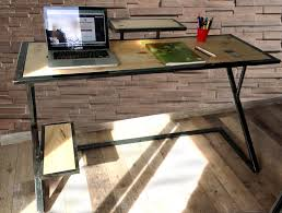 bureau stylé bureau style industriel milancreation meuble industriel