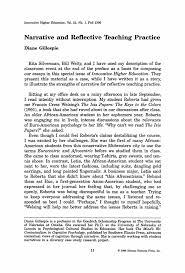 Example Of An Narrative Essay Reflective Essay Thesis Does A Reflective Essay Need A Thesis War