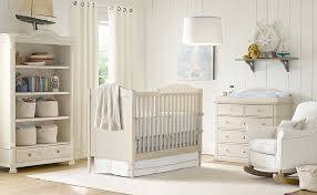 Cream White Baby Blue Nurserylove The Nautical Accents Kids - Baby bedrooms design