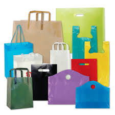 custom printed plastic shopping bags wholesale direct manufacturer