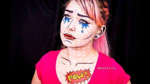 tutorial maquiagem pop art youtube