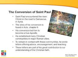 the acts of the apostles and saint paul the bible course document
