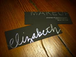 freelance makeup artist business card 50 awesome sles of business cards pics the best document