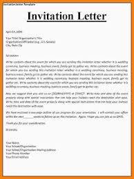 letter of invitation template how to write a letter of invitation