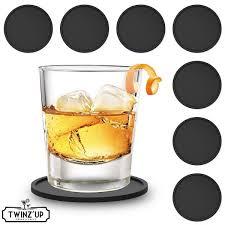 Suche Wohnzimmer Bar Silikon Untersetzer Twinz U0027up 8 Stück Gummiuntersetzer Für Bar