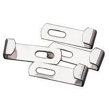 How To Mount Bathroom Mirror by Masterpiece Decor Spring Loaded Mirror Mounting Clips 4 Pack