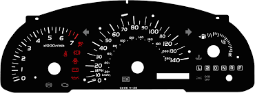 lexus v8 hiace conversion toyota avensis verso kmh to mph speedo meter clocks dials