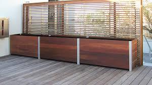 large wood garden planters deepstream designs