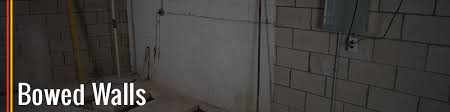 Bowing Basement Wall by Bowed Walls Make Sure Your Home Is Safe A 1 Concrete Leveling