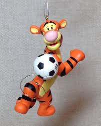 hallmark soccer tigger style keepsake collectible disney ornament