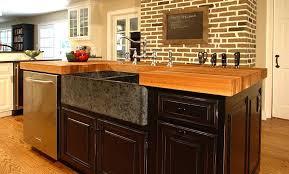 oak kitchen carts and islands large walnut wood countertop kitchen island in new jersey inside