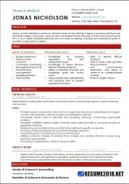 Analyst Resume Template Financial Analyst Resume Templates Download Entry Level Finance