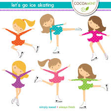 let u0027s go ice skating clip art