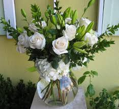 roses and lilies white roses and lilies in malibu ca malibu garden florist