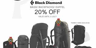 outdoor life outdoor life great singapore sale black diamond 20 off promotion