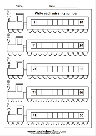 Number Worksheets Missing Number Worksheets Up To 50 With Missing Numbers 1