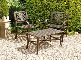 Outdoor Metal Furniture by How To Clean Outdoor Patio Furniture Banbenpu Com