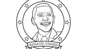 Black History Coloring Pages Barack Obama Featuredimage Photoshots Jackie Robinson Coloring Page