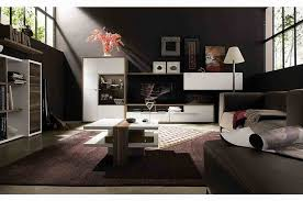 Decorating Ideas For Apartment Living Rooms Dramatic Contemporary Apartment Living Room Decor Ideas Using Dark