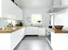 faience cuisine et blanc carrelage pour cuisine blanche