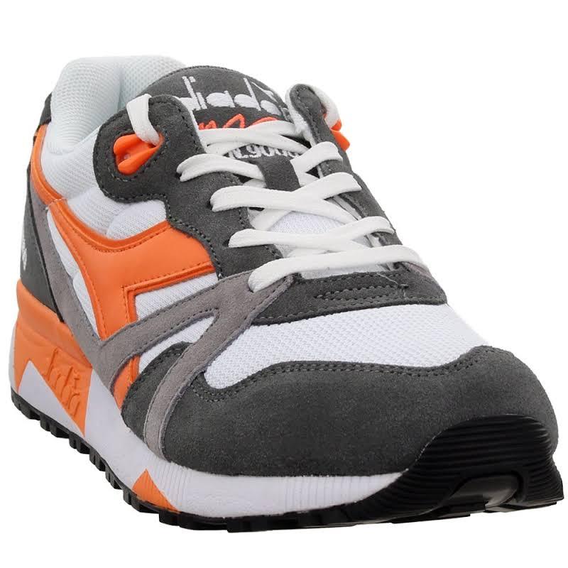Diadora N9000 III Sneakers Grey;Orange;White- Mens