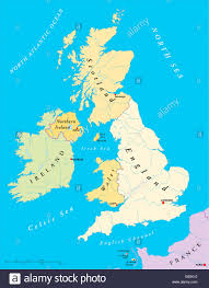 Map Of Britain Is The Uk The Same As Britain Great Britain And England United