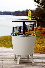 drink table bar keter cool bar plastic outdoor ice cooler table garden furniture