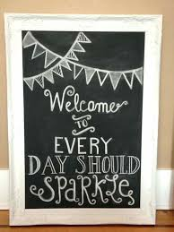 chalkboard for kitchen as the decoration ideas and decorative