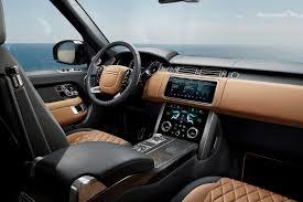 range rover sport interior 2017 2018 range rover p400e phev parkers