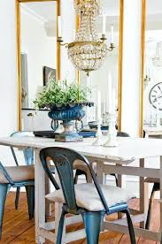 Metal Dining Chairs Metal Dining Chairs Industrial Apart The Story Of Our Dining Room