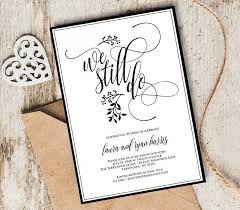 vow renewal program templates vow renewal invitation template we still do instant