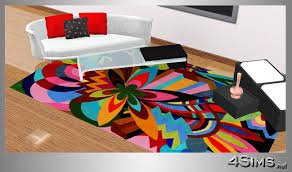Modern Contemporary Rugs Colorful Modern Rugs Home Design Photo