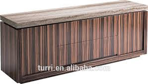 Marble Top Sideboards And Buffets Modern Marble Top And Mdf Sideboard Buffet For Home Furniture