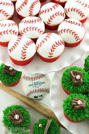 baseball cupcakes picmia