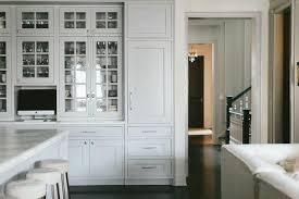 seeded glass kitchen cabinet doors light gray seeded glass china cabinets transitional kitchen