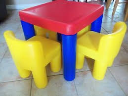 Little Tikes High Chair Little Tikes Table And Chairs Ebay