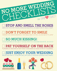 preparation of event plan for wedding no more wedding checklists how to make sure to enjoy your