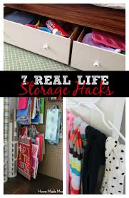 real life storage hacks home made modern
