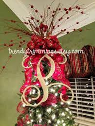 monogram tree topper suess tree tree toppers christmas tree and holidays