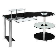 Wooden Corner Desk Top Have Slide Out Drawer For Keyboard by Desks Wooden Home Office Desk Modern Desk With Drawers Modern