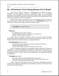 how to argue using fallacies part 1 upper elementary middle