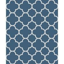 blue quatrefoil wallpaper a street origin blue quatrefoil wallpaper sle 2625 21855sam the