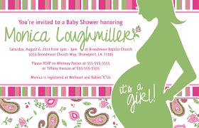 project of the week baby shower invite create share repeat