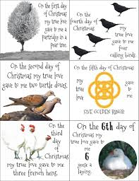 12 days of christmas gift ideas and free printable holidays