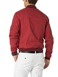 tommy hilfiger colton er jacket in red for men lyst