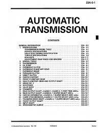 manual v4aw2 transmission mechanics clutch