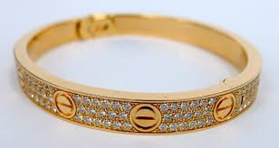 cartier bracelet pink gold images Cartier love bracelet pink gold diamond ref n6036916 new unworn jpg