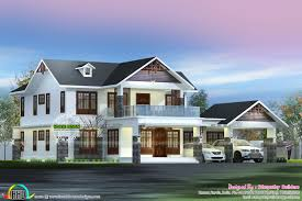 5 bhk sloping roof kerala home 2750 sq ft kerala home design and