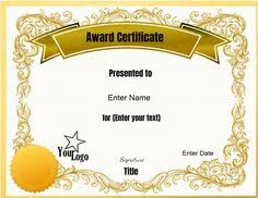 certificate template free download powerpoint style pinterest