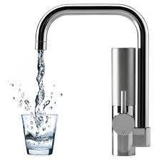best water filter for kitchen faucet kitchen best kitchen faucet with built in water filter brushed
